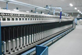 Bearing stock for textile industry